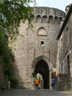Entrance to the medieval town