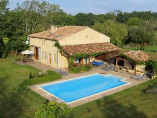 Deluxe Barn Conversion with 10m x 6m Pool., Montpeyroux