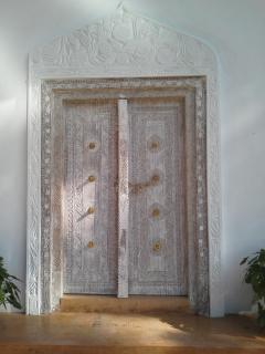 The Handcarved Lamu Door