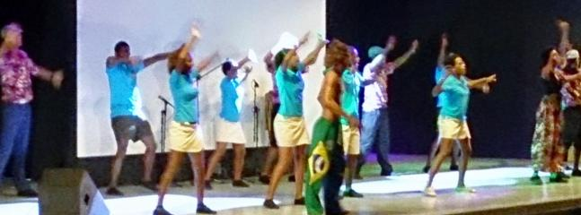Traditional Cape Verdean Dances  - one of the varied evening amphitheatre entertainments
