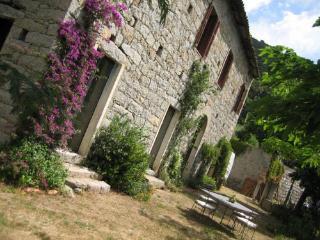 Caratteristica casa in pietra in villaggio corso, Corse-du-Sud