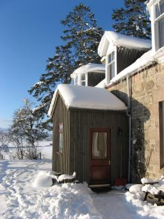 Balvattan in the snowy winter of 2010