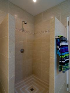 Shower in Master Bedroom Upper Level