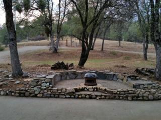front yard fire pit