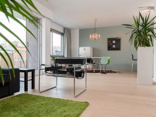 Modern, open & light living area
