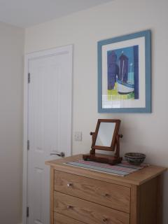 Screen prints of local scenes by Linda Davidson