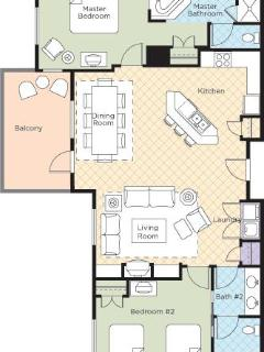 2 Bedroom Presidential