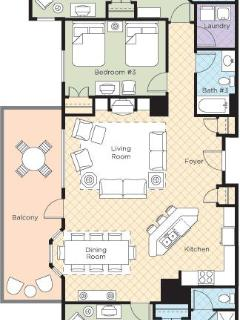 3 Bedroom Presidential