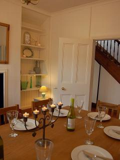 Lovely dining room to sit all the family