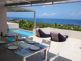 BELLA VISTA, panoramic view from Maho to Anguilla, La Savane
