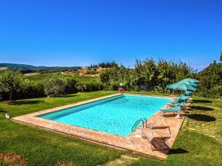 4 bedroom Villa in San Gimignano, San Gimignano, Volterra And Surroundings, Tuscany, Italy : ref 2294074, Pancole