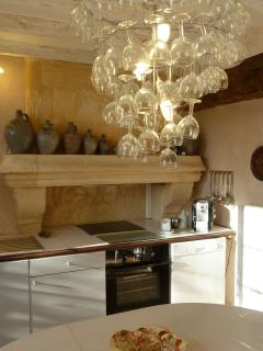 Guest Villa Cottage Fragonard Kitchen