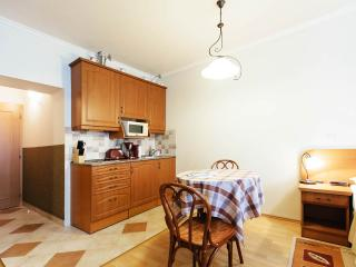 Well-equipped kitchenette with dining area