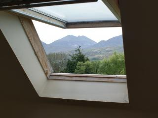 View out the roof-light of a Bedroom at Tory Bush Cottages