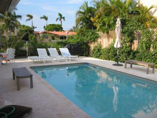 Waterfront Gated Private Pool Home With Dock, Miami