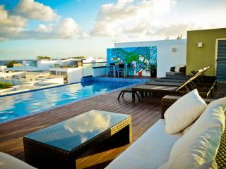 Flat with Great Terrace and Pool, Playa del Carmen