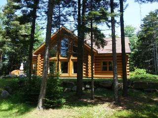 Deluxe Log Cabin