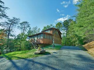 One Bedroom Smoky Mountain Log Cabin with Outdoor Fire Pit and Game Room, Sevierville
