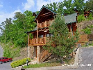 2 Bedroom Luxury Cabin Amazing Mountain View, Wears Valley Pigeon Forge TN, Sevierville