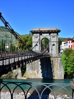 Suspension Bridge at Chifenti