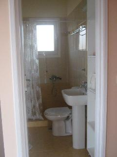 Second bathroom with shower.