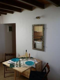 Kitchen area - Sendoukia Country Villa