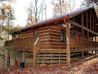2 bed large cabin, Game Room, Flat Screens, between Gatlinburg & Pigeon Forge, Sevierville