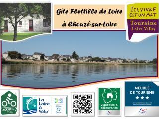 Gîte Flottille de Loire entre Touraine & Anjou, Chouze-sur-Loire