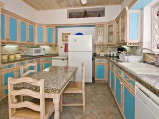 Fully outfitted kitchen with dishwasher and microwave