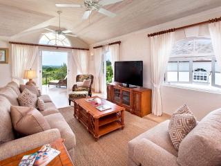 The open plan living area opens out to the spacious patio