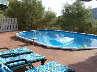 Private pool 7 x 4 metres with large terrace