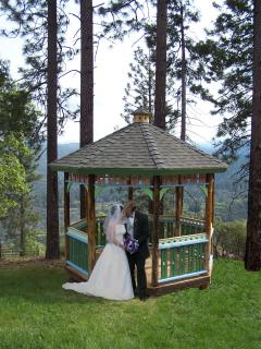 Gazebo, perfect for special occasions