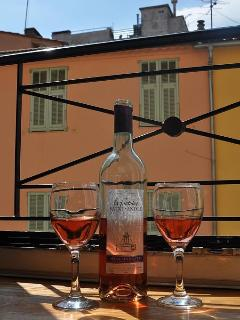 Enjoy a glass,... or two of Rose.....? Situated in the Goldsmiths area of the Carre d'Or.