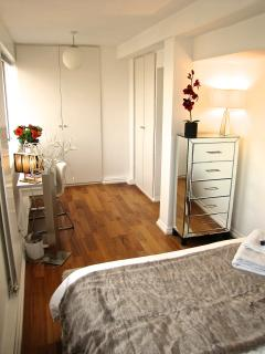 Large Bedroom with Dressing Room area
