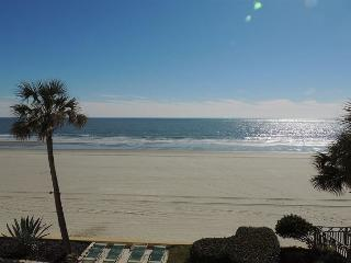 Awesome Oceanfront View, Updated @ Brigadune #3B Shore Drive Myrtle Beach SC