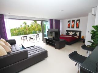 Luxury 1 bedroom apartment with jacuzzi sea view, Lamai Beach