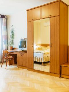 Large wardrobe with mirrors