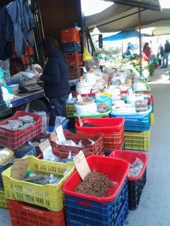 Local Kolimbari Friday Market, Fish and local produce, Clothes Shoes and Bags. Every Friday.