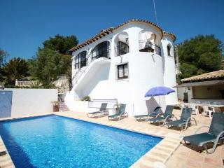 Ana delightful villa in Moraira, Benissa
