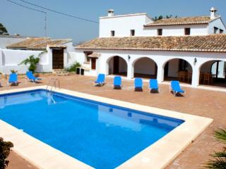 Finca Pere villa holiday  Benissa Spain, Teulada