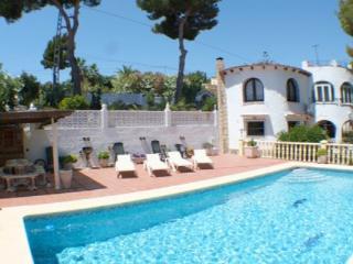 El Cisne holiday home villa in Benissa