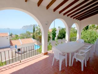Kika sea view villa in Benissa, Calpe