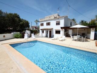 Casa moderna villa mayor Benissa coste España