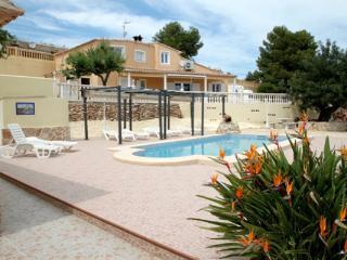 Estrelizia villa with private pool panoramic views, Calpe