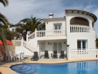 Amapolas - stunnning villa with private pool, Moraira