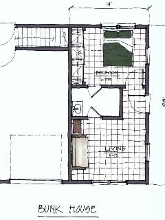 Floorplan - Bunk House