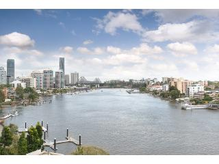 River views & city views , cool north east aspect