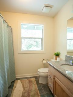 Second bathroom on the second floor