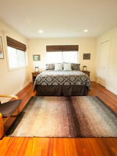 Master Bedroom, with a king size bed