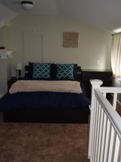Upstairs Loft Bedroom with Double Bed